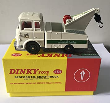 BEDFORD TK CRASH TRUCK DINKY TOYS N° 434 ATLAS