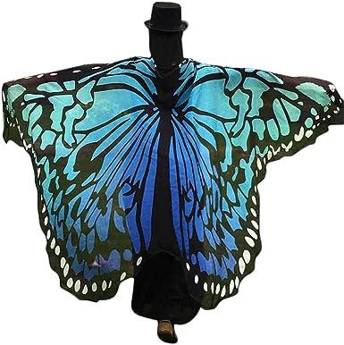 Capas y alas Disfraz de Alas Impreso Mariposa para Niñas Carnaval ...