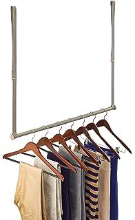 Amazoncom Lynk Double Hang Closet Rod Organizer Clothing Hanging