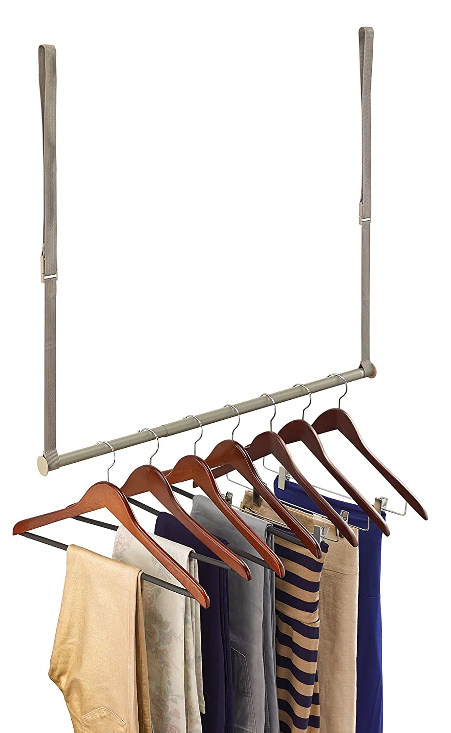 Amazon.com: ClosetMaid 31220 Double Hang Closet Rod, Nickel: Home U0026 Kitchen