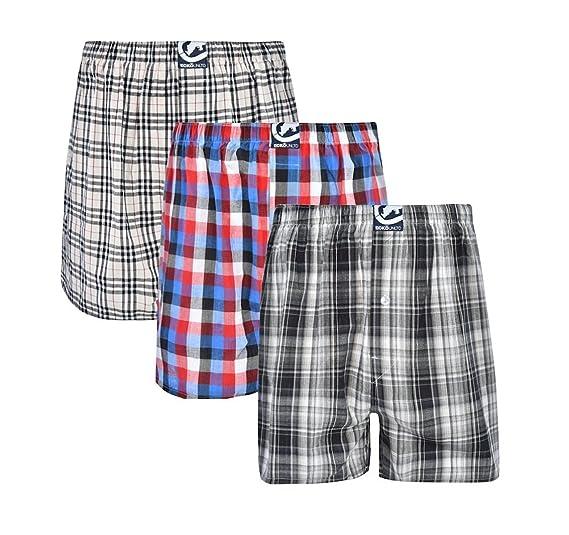 Ecko Unltd Mens 3pk Woven Boxers 293 Boxer Shorts