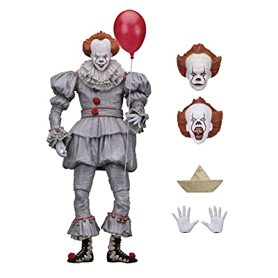 "NECA - IT - 7"" Scale Action Figure - Ultimate Pennywise (2020): Toys & Games"
