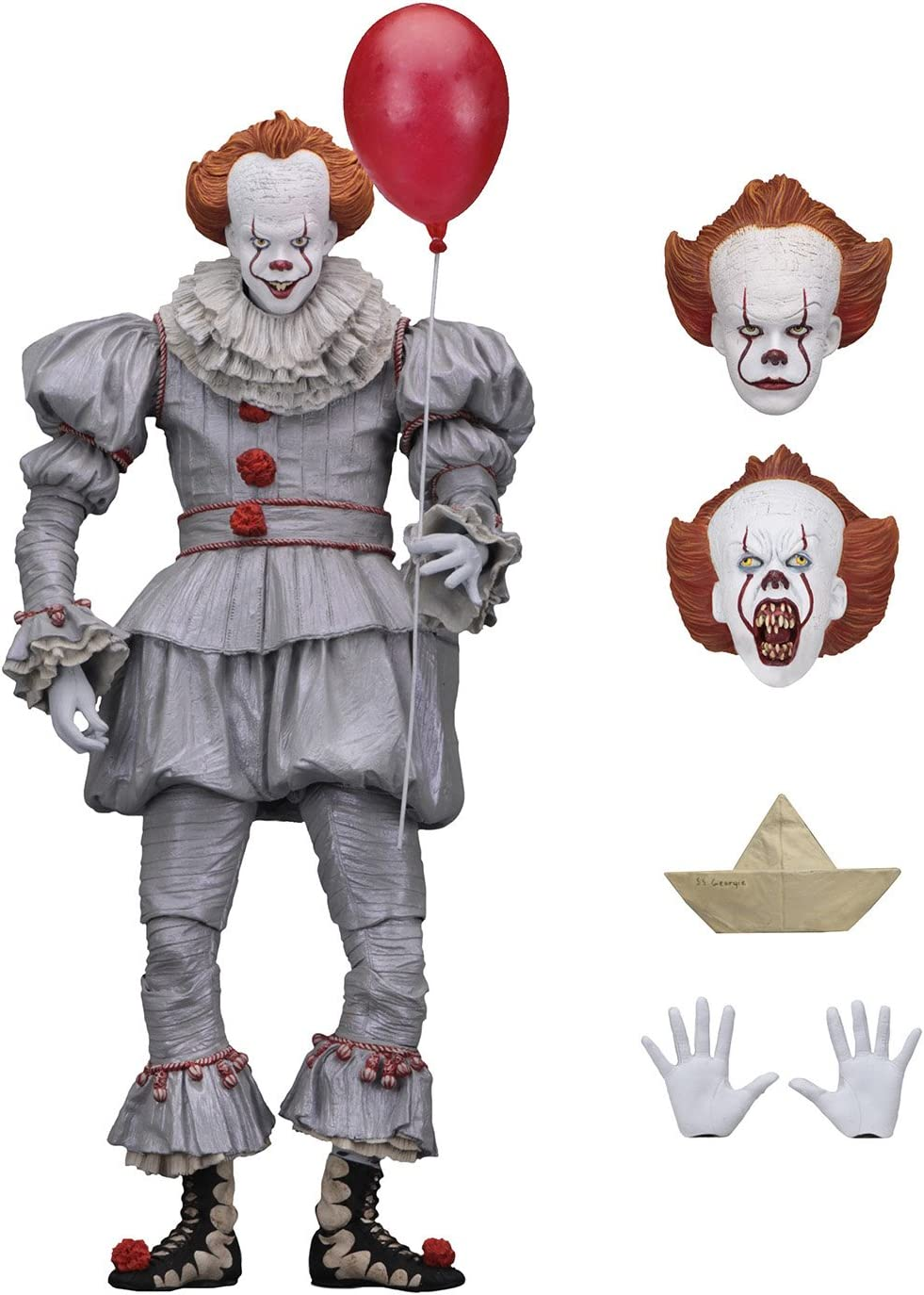 """IT Pennywise 2017 Film Ultimate 7/"""" Scale Action Figure Neca"""