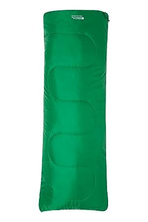 Mountain Warehouse Saco de Dormir Basecamp para Acampar tamaño Mini - 160 x 65 cm,