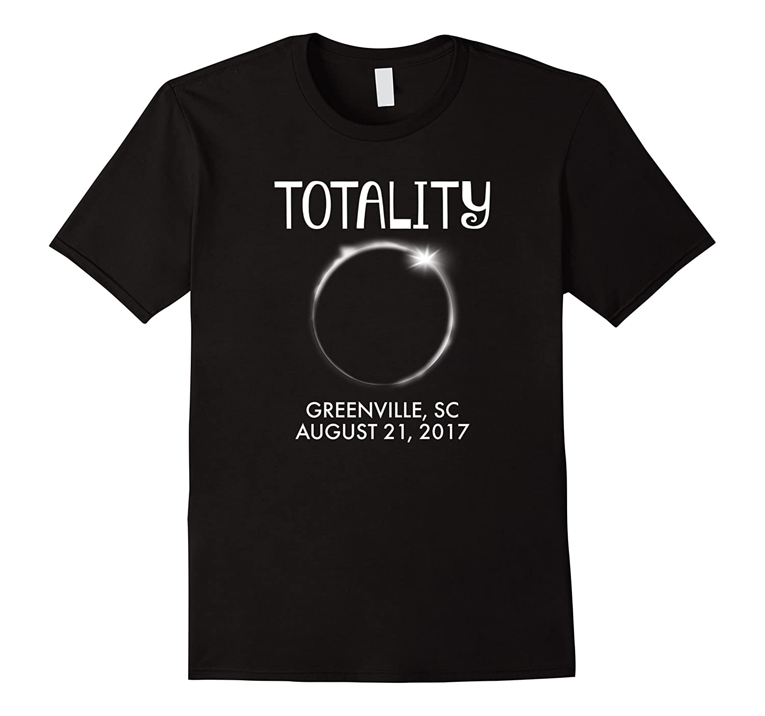 greenville south carolina total solar eclipse t shirt bn