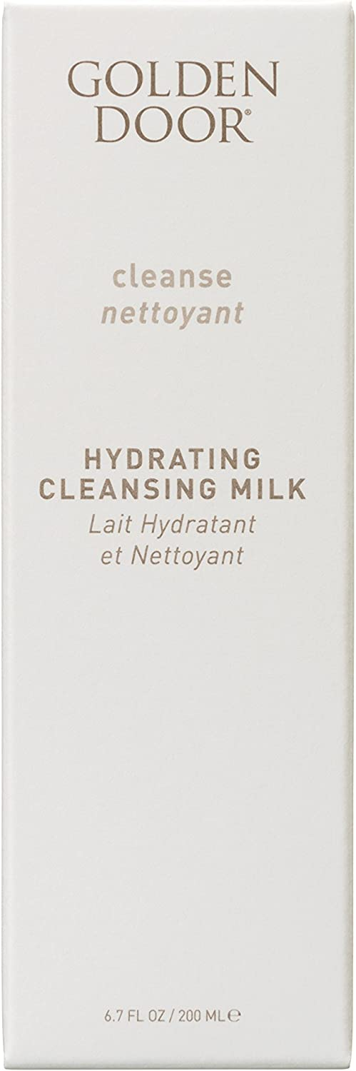 Golden Door Skincare Hydrating Cleansing Milk, Soothing, moisturizing, facewash, Clean, 6.7 fl oz, All Natural