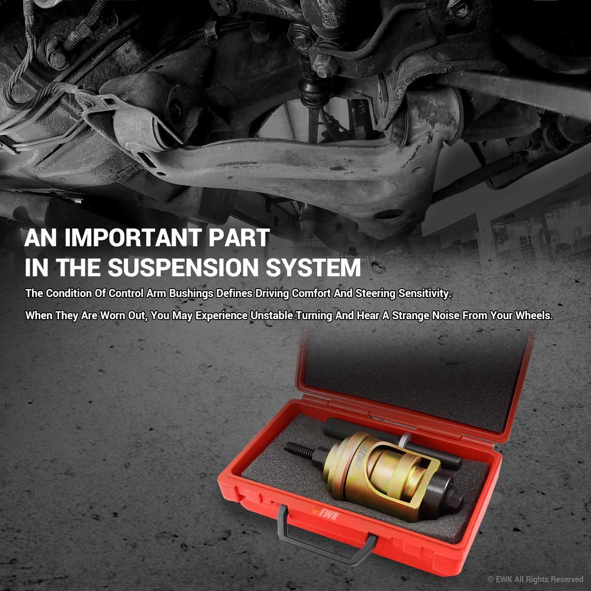 EWK Lower Control Arm Bushing Tool for Mercedes Benz W202 R170 by EWK (Image #2)
