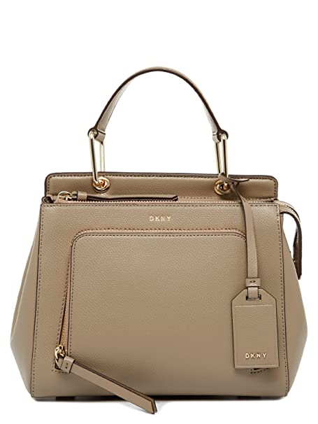 DKNY - Cartera para mujer de Piel Mujer, color beige, talla ...
