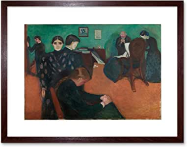 Amazon.com: Painting Edvard Munch Death in The SICKROOM ...