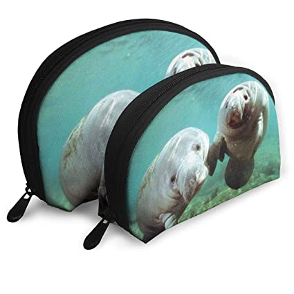 e223210c6220 Amazon.com: E46Dp1 Pair of Manatee Doug Perrine Ocean Animal Travel ...