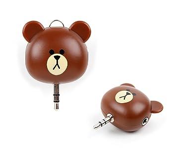 Separador niño Audio oso para Smartphone/Tablet/auricular ...