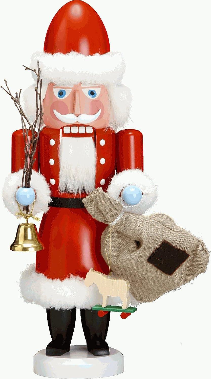 NUßKNACKER HUSAR blau 50cm NEU Erzgebirge Volkskunst Original Weihnacht Seiffen