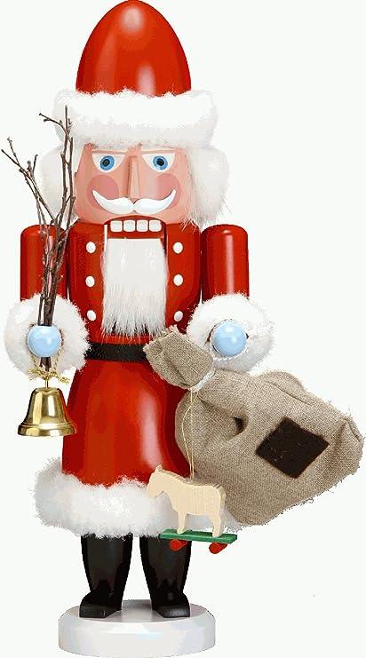Babbo Natale Originale.Schiaccianoci Babbo Natale Rosso 38 Cm Di Altezza Originale Monti