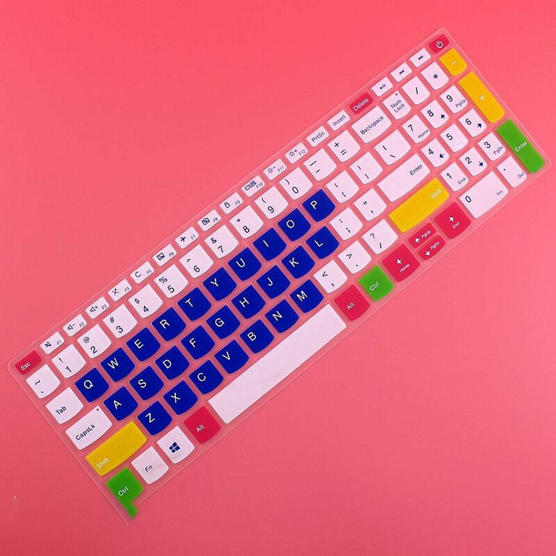 Maxsan Laptop Keyboard Cover for Lenovo Ideapad 320 17 V320 330 17 330 17 330 17Ikb 320 17Ikbr V320 17Ikb 17.3 Inch-Rainbow