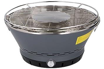 Aobosi Rauchfreier Holzkohlegrill : Bbqtime tragbarer holzkohlegrill heißluft aktivbelüftung