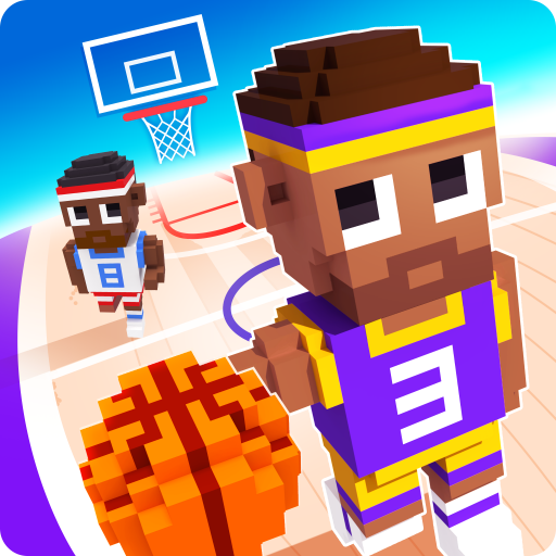 Blocky Basketball - Endless Arcade -