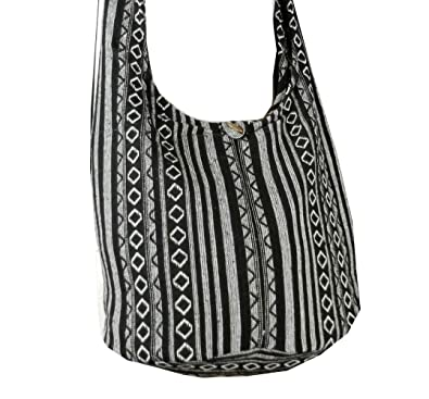 Amazon.com: BTP! Thai Cotton Sling Bag Purse Crossbody Messenger ...