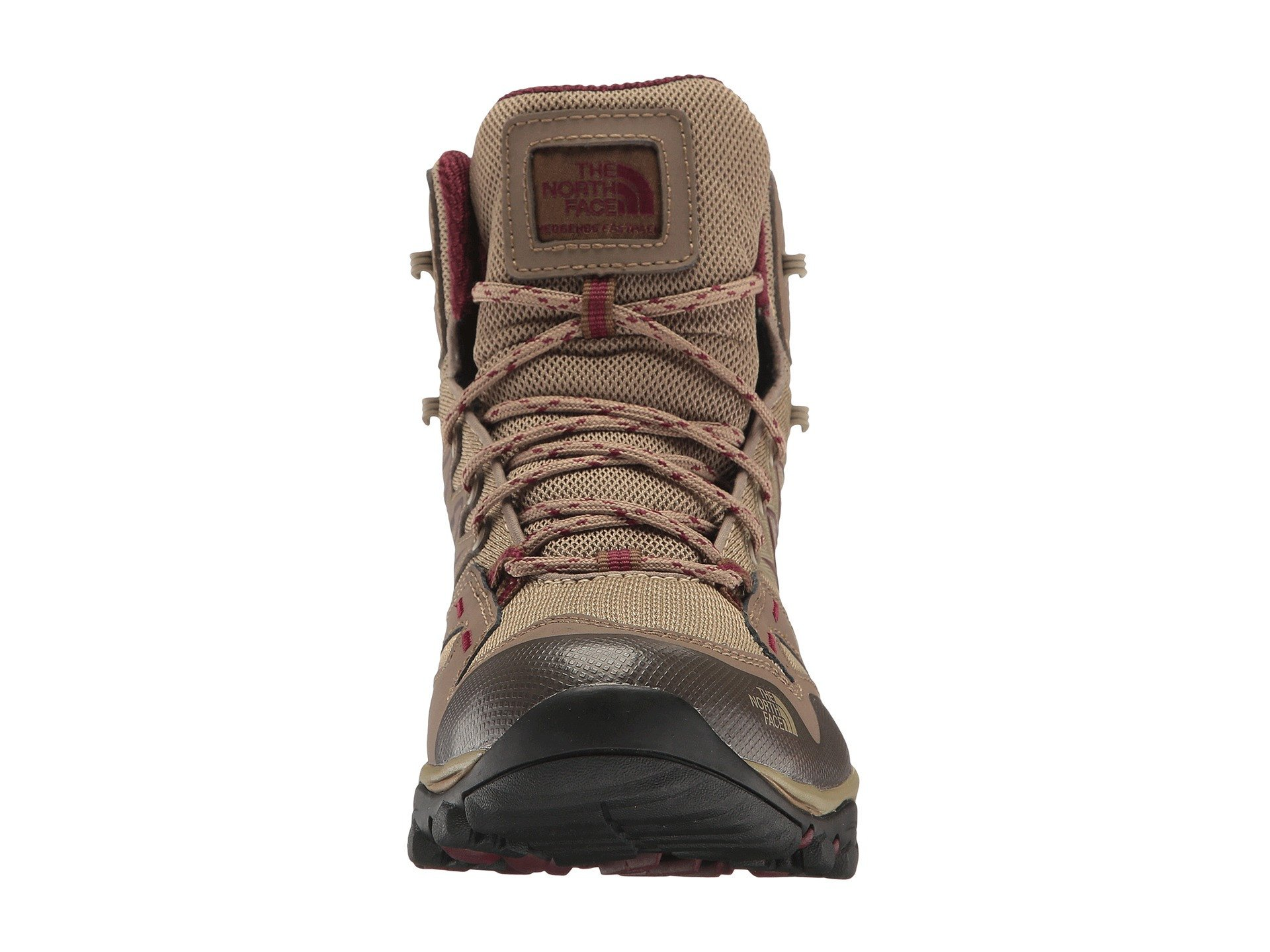 a50e6a3ae The North Face Womens Hedgehog Fastpack Mid Gtx Dune Beige & Deep ...