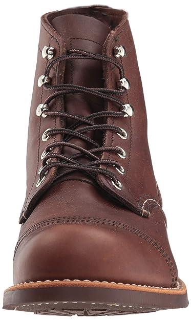 Red Wing Shoes - Zapatos de cordones de cuero para hombre, Marrón (Ambar Harness), 11,5 / 45: Amazon.es: Zapatos y complementos