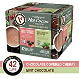 Hot Cocoa Variety Pack with Chocolate Covered Cherry & Mint Chocolate for K-Cup® Keurig 2.0® Brewers, 42 Count, Victor Allen's Coffee® Single Serve Coffee Pods
