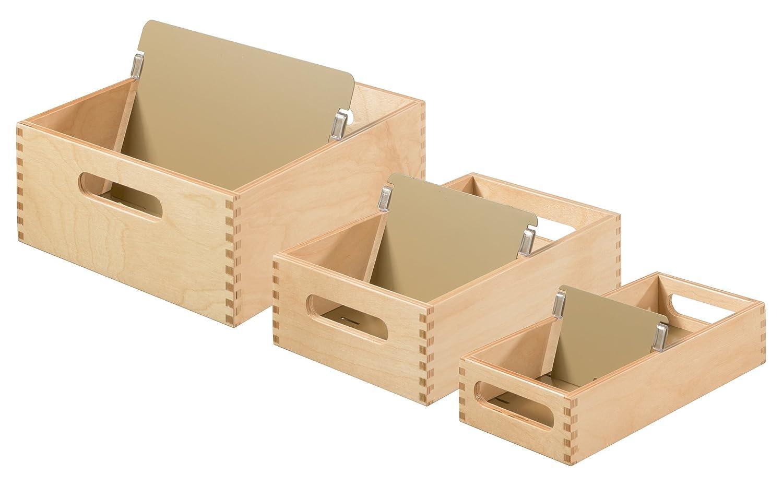 DIN A6 quer aus Holz HAN Karteitrog 506-0 Hochwertige Lernkarteibox aus edlem /& robustem Naturholz f/ür 900 DIN A6 Karteikarten Ideal zum Vokabeln lernen /& als Lehrmaterial