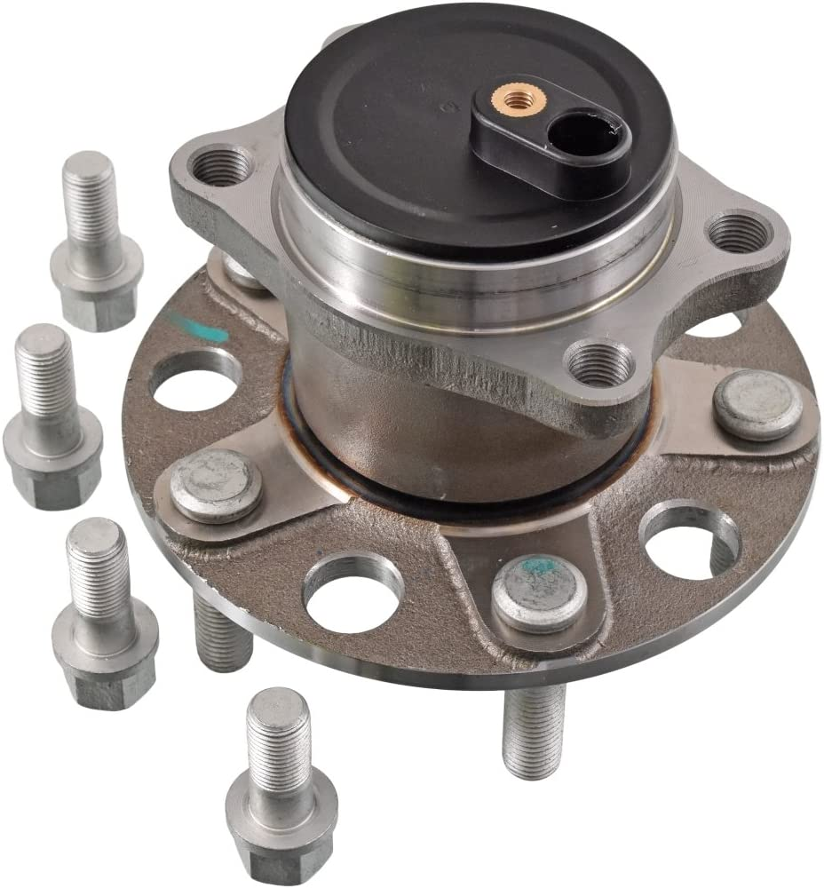 Blue Print ADC48358 Wheel Bearing Kit with wheel hub and ABS sensor ring pack of one