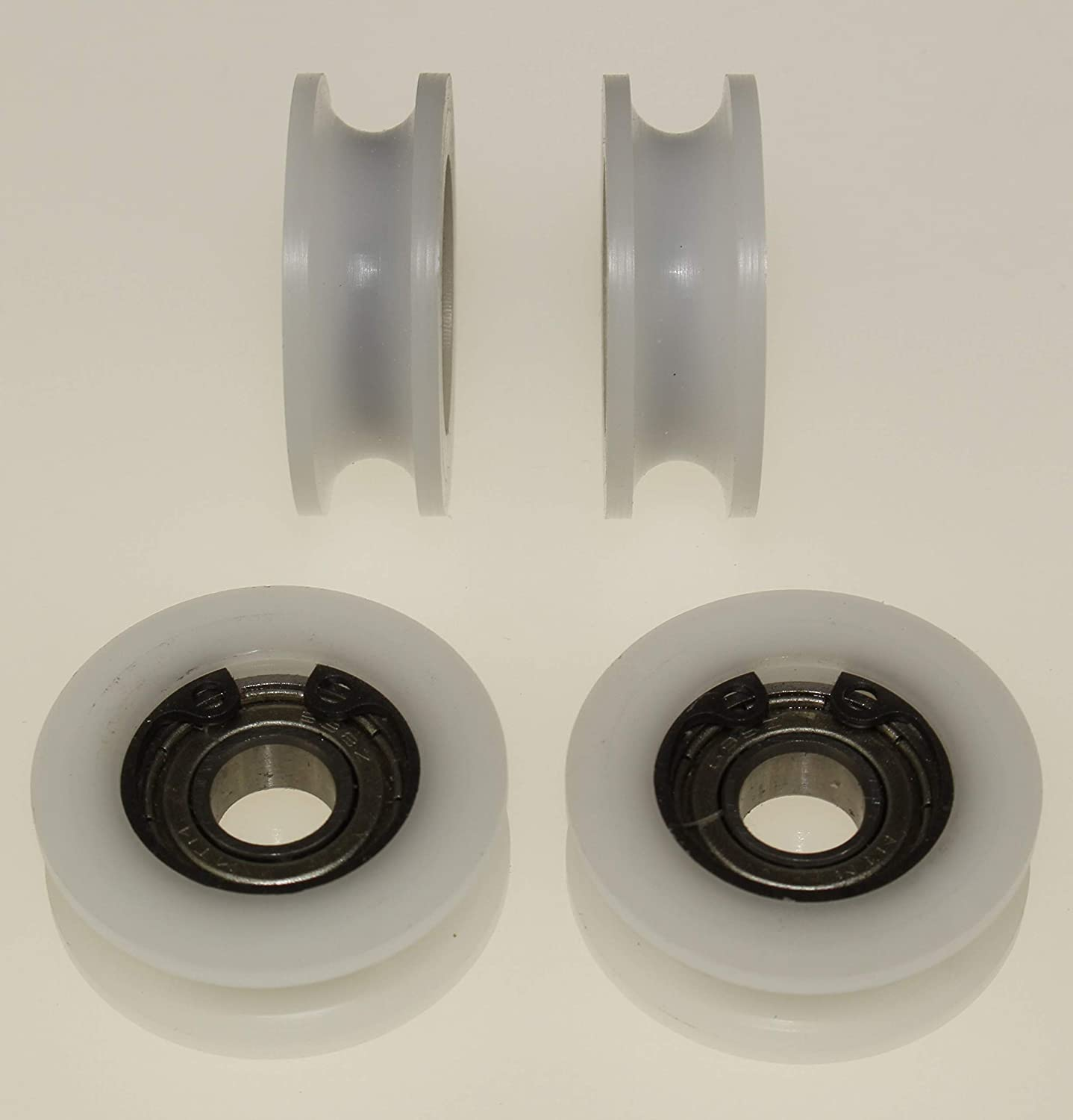 6 mm Groove - 8 mm Bearing