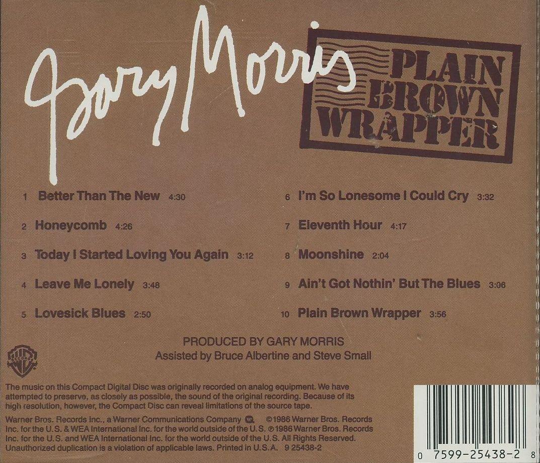 Gary Morris - Plain Brown Wrapper - Amazon.com Music