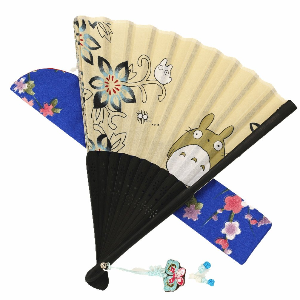 Amazon.com: Wise Bird Hand Held Folding Japanese Fan - F606(Design ...