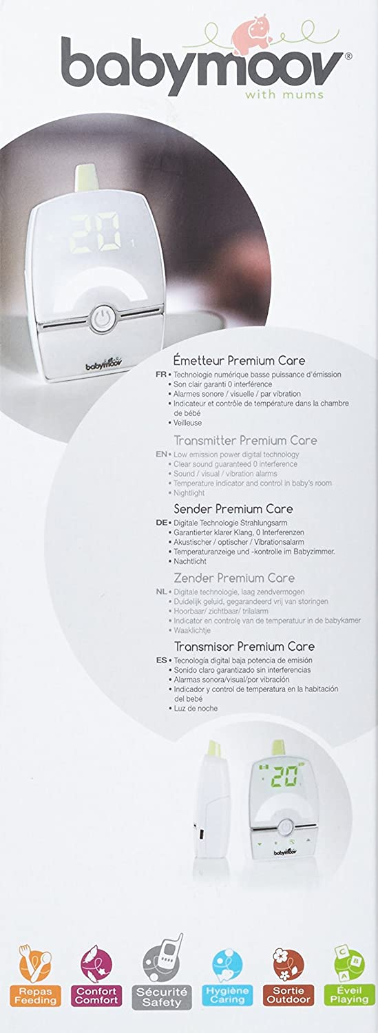 Babymoov Emetteur Additionnel Premium Care Blanc