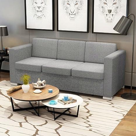 Luckyfu Diseno Moderno Mobiliario Sofas Sofa de 3 plazas ...