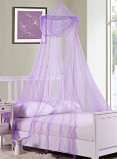 Fantasy Kids Raisinette Collapsible Hoop Sheer Bed Canopy One Size Purple & Amazon.com: Sparkletastic Girls Bed Canopy Purple: Home u0026 Kitchen