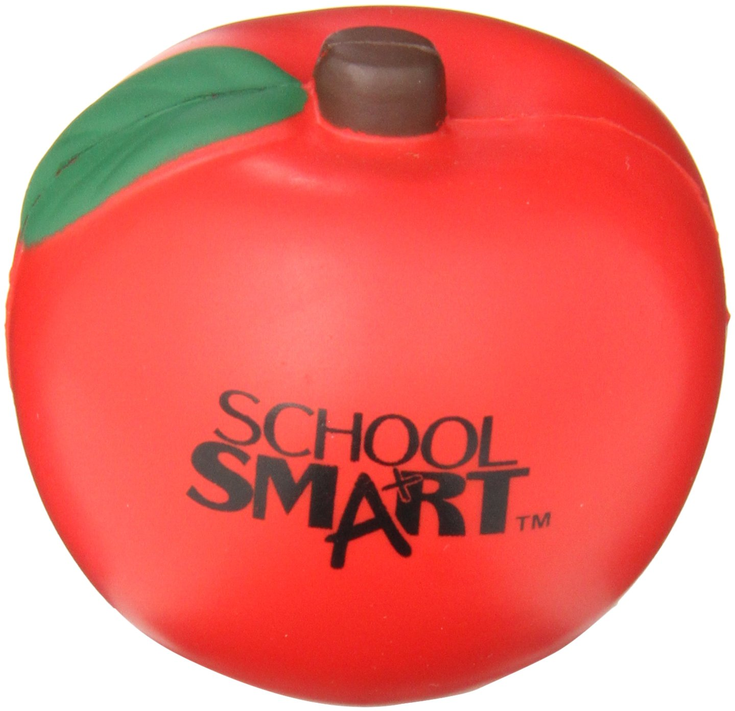 School Smart Apple Shape Stress Ball - 086351