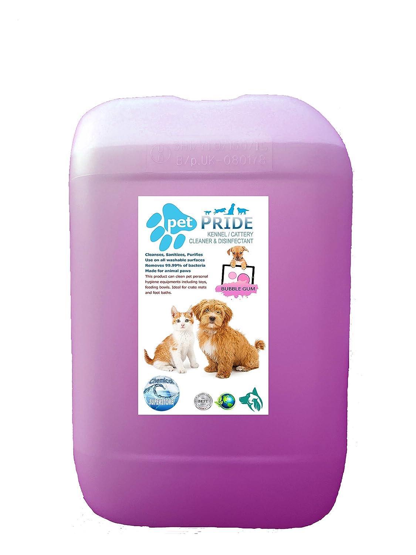 Pet orgullo de la perrera/cattery desinfectante, limpiador, ambientador 5L - 25L, 25 Litros: Amazon.es: Hogar