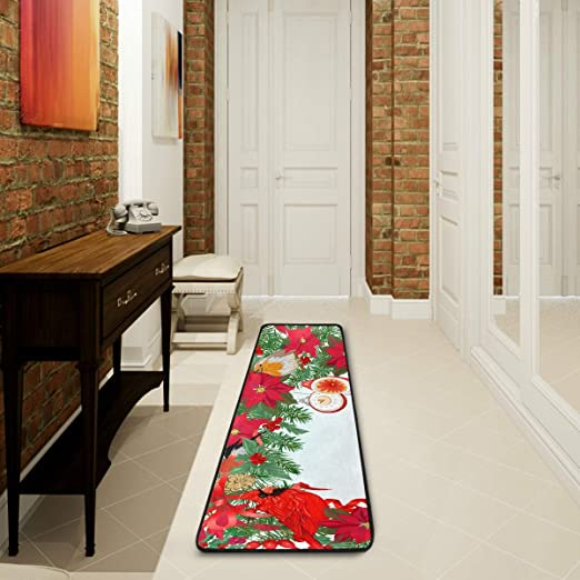 Amazon.com: Christmas Rug Runners for Hallways, Christmas ...