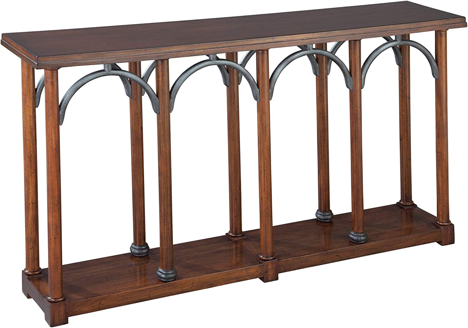 Hekman Furniture Console with Metal Arches