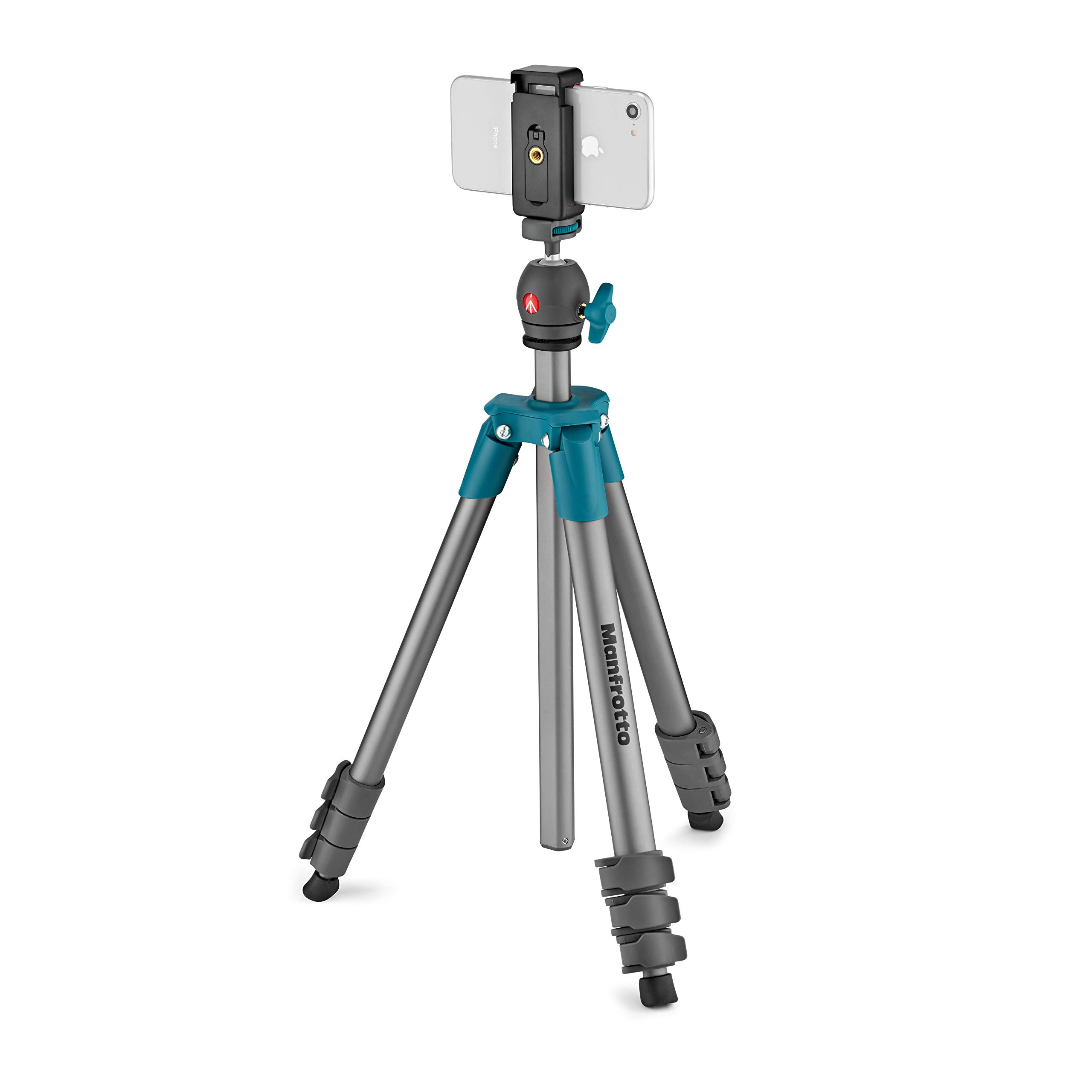 Manfrotto Compact Light 51inch Ball Head with Phone C ()