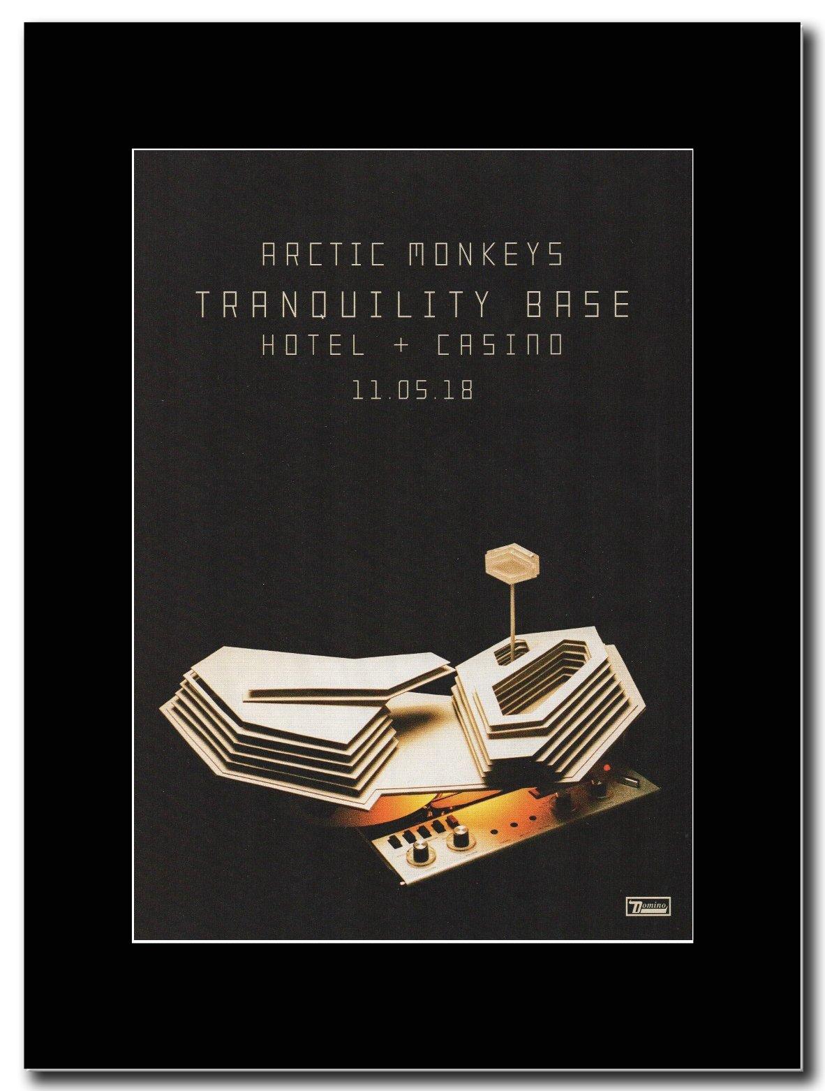 - Arctic Monkeys - Tranquility Base Hotel & Casino. - Magazine Promo on a Black Mount