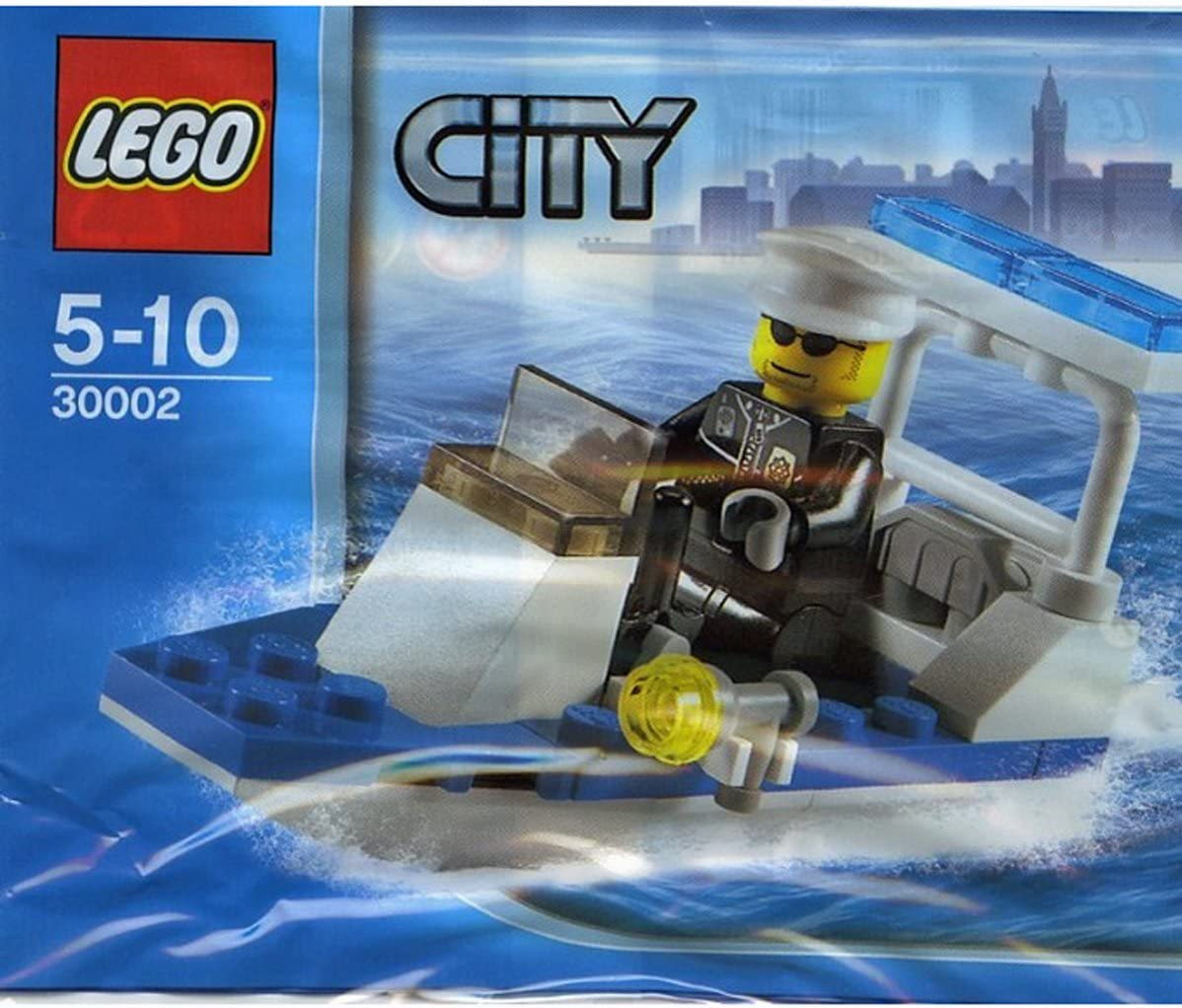 Lego City Police Boat 30-Piece Construction Toy #30002