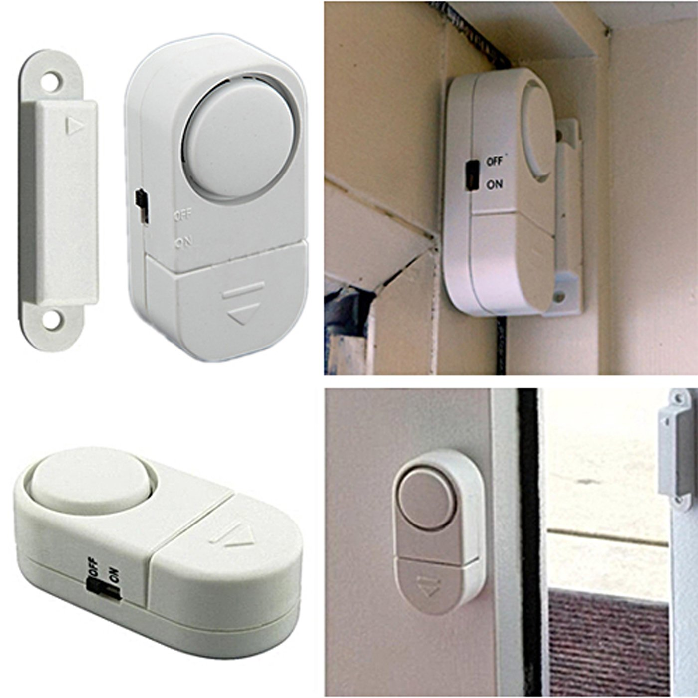 Amazon Hde Diy 4 Piece Wireless Personal Security Alarm System