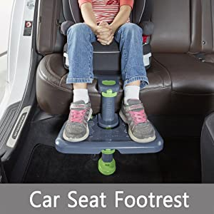 [KneeGuardKids3] Car Seat Foot Rest Booster Protect Knee ISOFIX