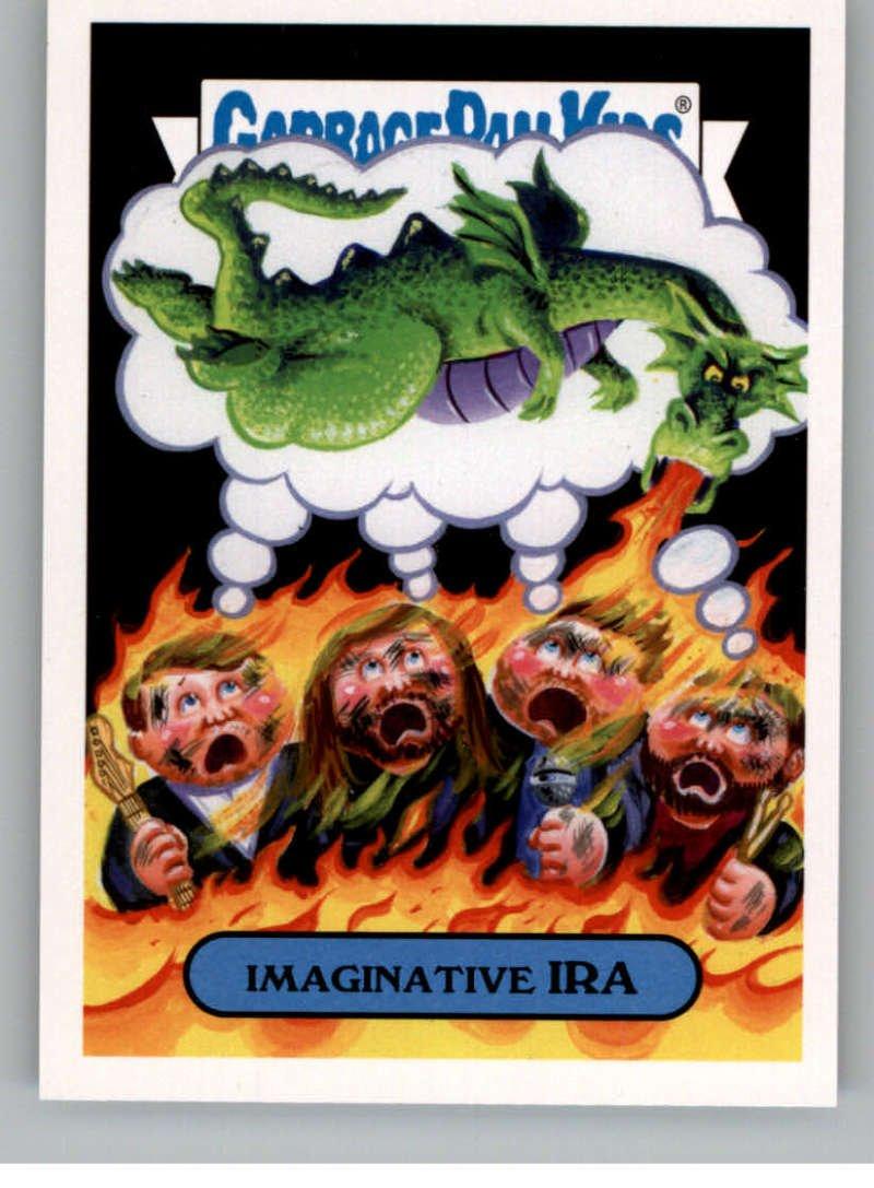 2017 Topps Garbage Pail Kids Series 2 Alternative #10B IMAGINATIVE IRA