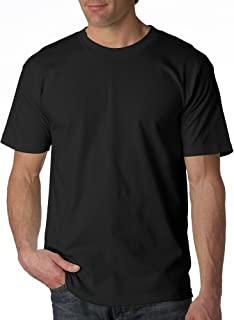 product image for BAYSIDE Adult Short-Sleeve Tee>XL Black 5100