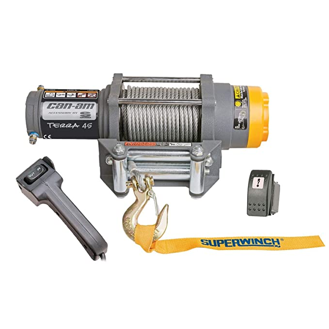 Amazon.com: Can-Am Terra 45 by Superwinch 4500 lbs Winch Commander Maverick 715002092: Automotive