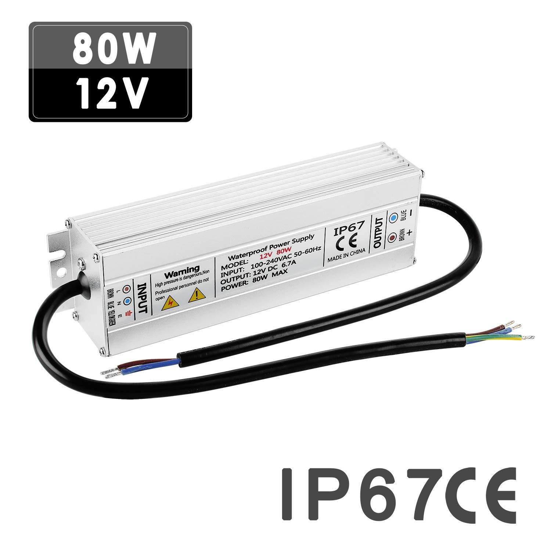 LED Trafo Driver 12V, 1 30W zur Stromversorgung von LED Leuchten