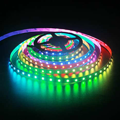 Amazon alitove 164ft 300 led ws2813 individually addressable alitove 164ft 300 led ws2813 individually addressable rgb led strip light upgraded ws2812b programmable led aloadofball