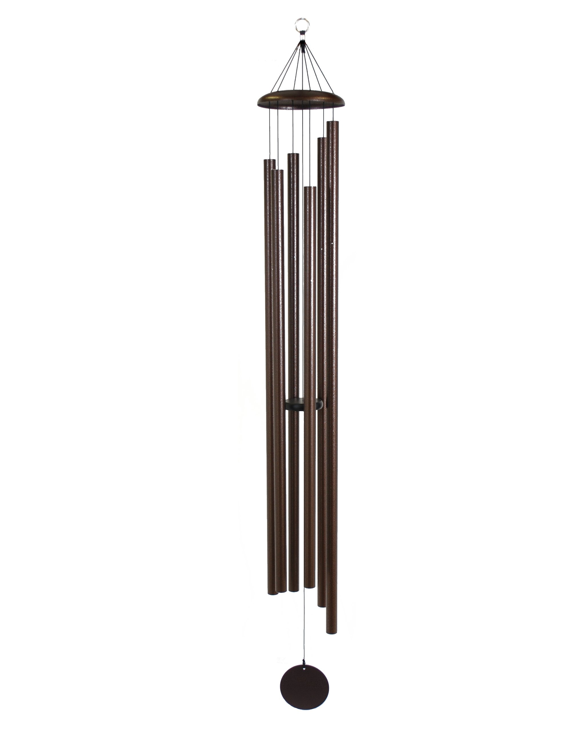 Corinthian Bells 74-inch Windchime, Copper Vein