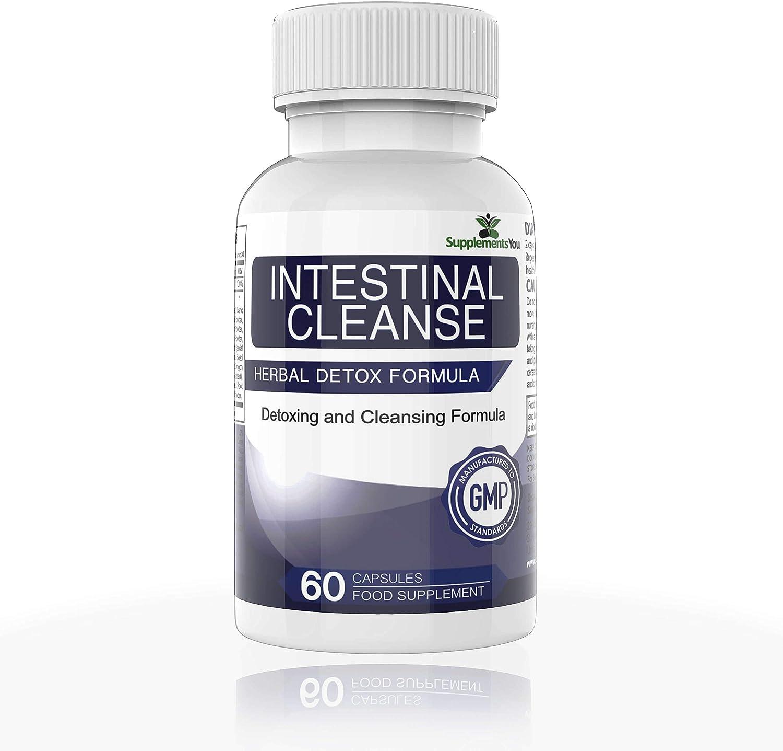 LIMPIEZA INTESTINAL– Nogal Negro y Ajenjo - Limpia y protege el sistema digestivo - Depurador Intestinal - 60 cápsulas Detox Limpieza Colon por SupplementsYou