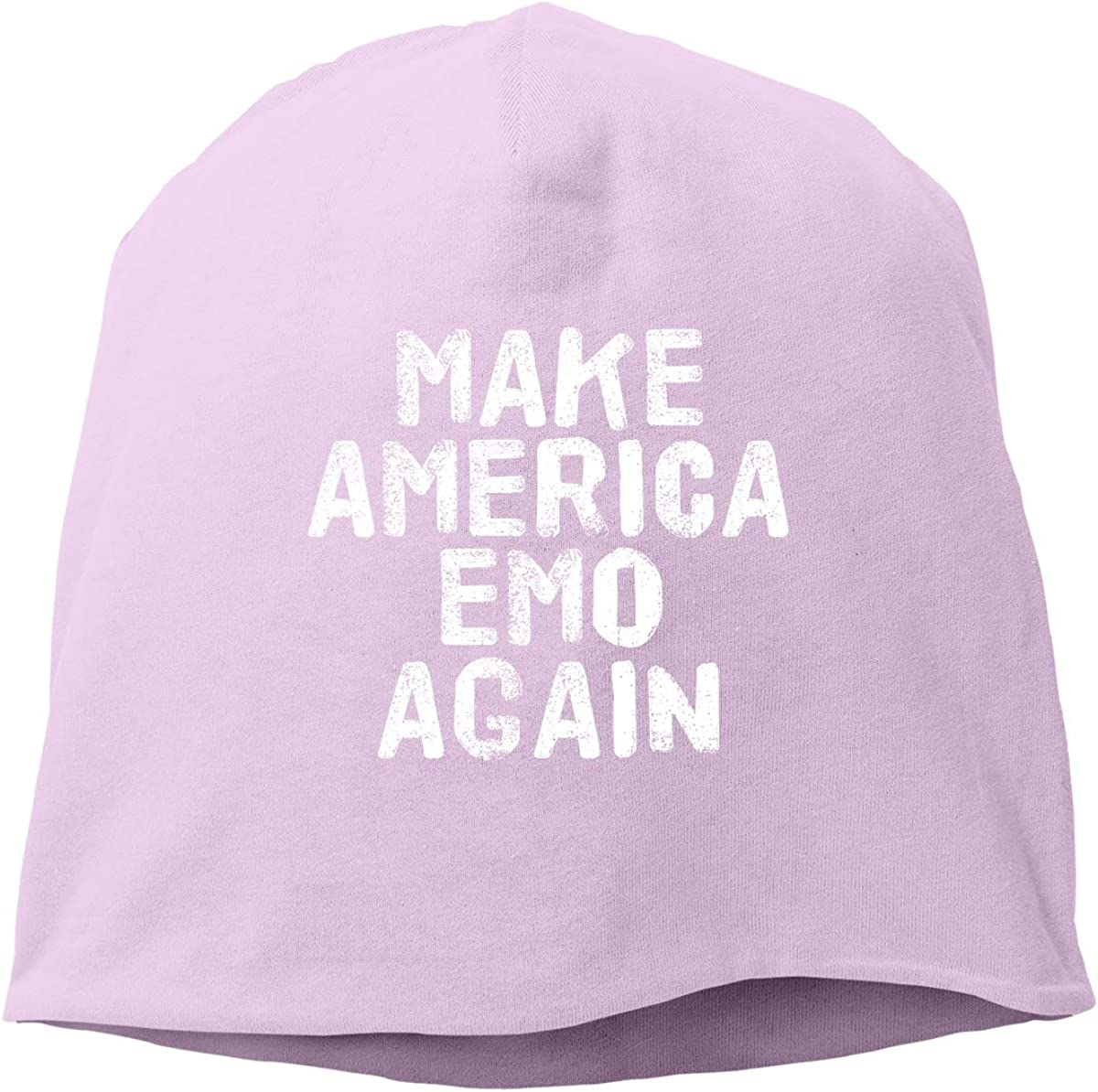 Make America Emo Again Unisex Knitted Hat Beanie Hat Warm Hats Skull Cap