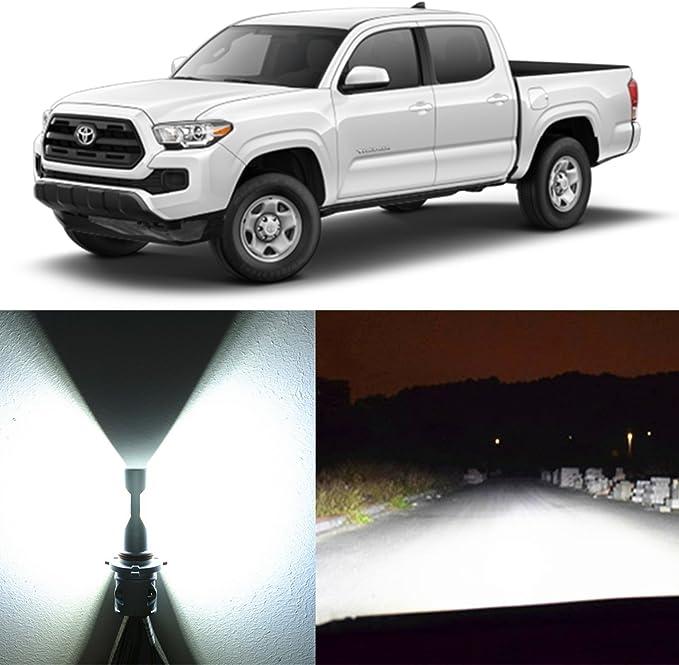 H11 LED Headlight Kit 600W 12000LM 6000K for TOYOTA Tacoma 2012-2019 Fog Light